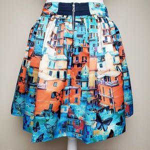 9e538e14fce9 Alice + Olivia Skirts - Alice + Olivia Venetian Butterfly Print Skirt